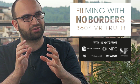 Filming with no borders 360 vr truth image